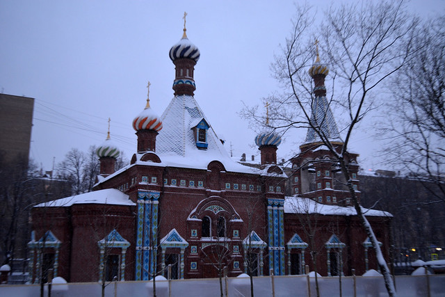 Staroobrjadcheskaja cerkov v Danilovskom rajone Moskvy