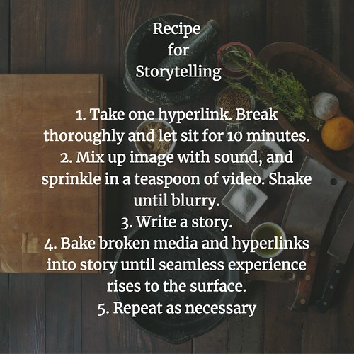 Recipe for Story
