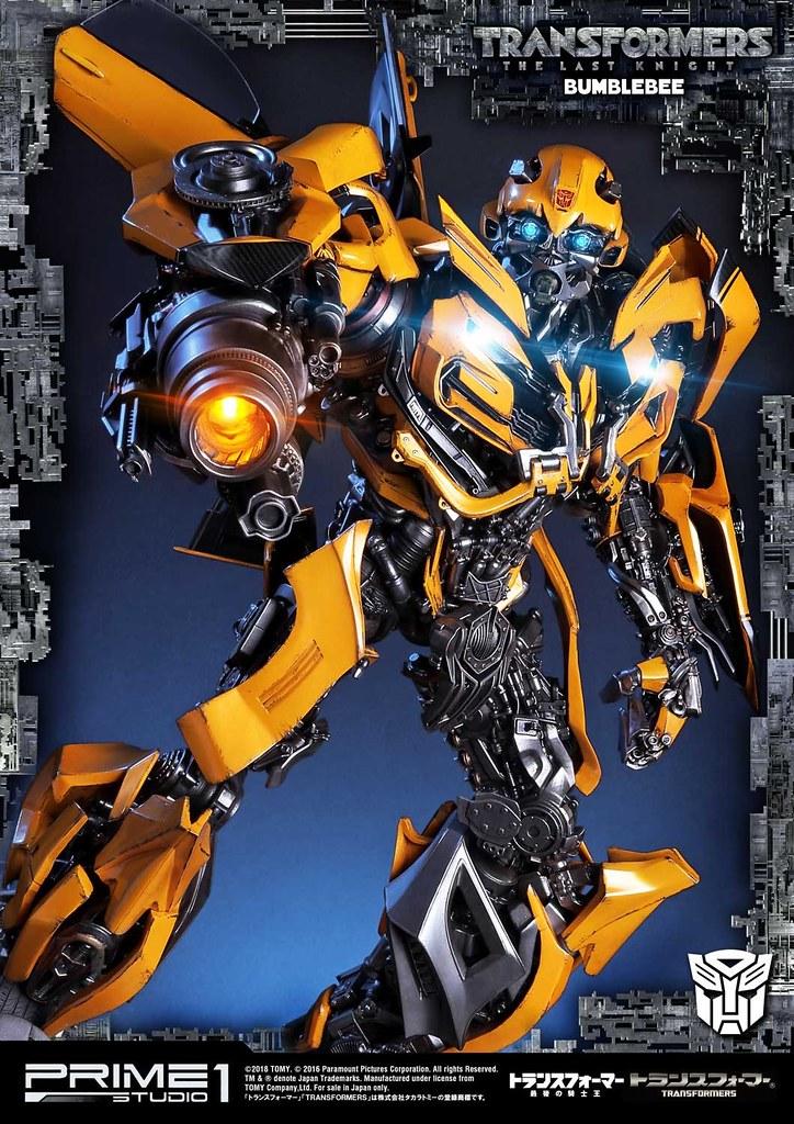 Prime 1 Studio《變形金剛5:最終騎士》大黃蜂 Bumblebee トランスフォーマー/最後の騎士王  バンブルビー MMTFM-20EX