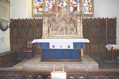 altar, reredos, flemish panels
