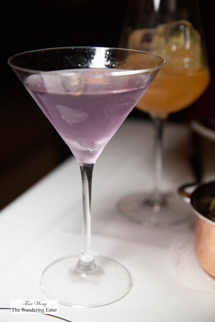 Provence Martini - Germain-Robin, Grey Goose, Lavender, Mancino Secco
