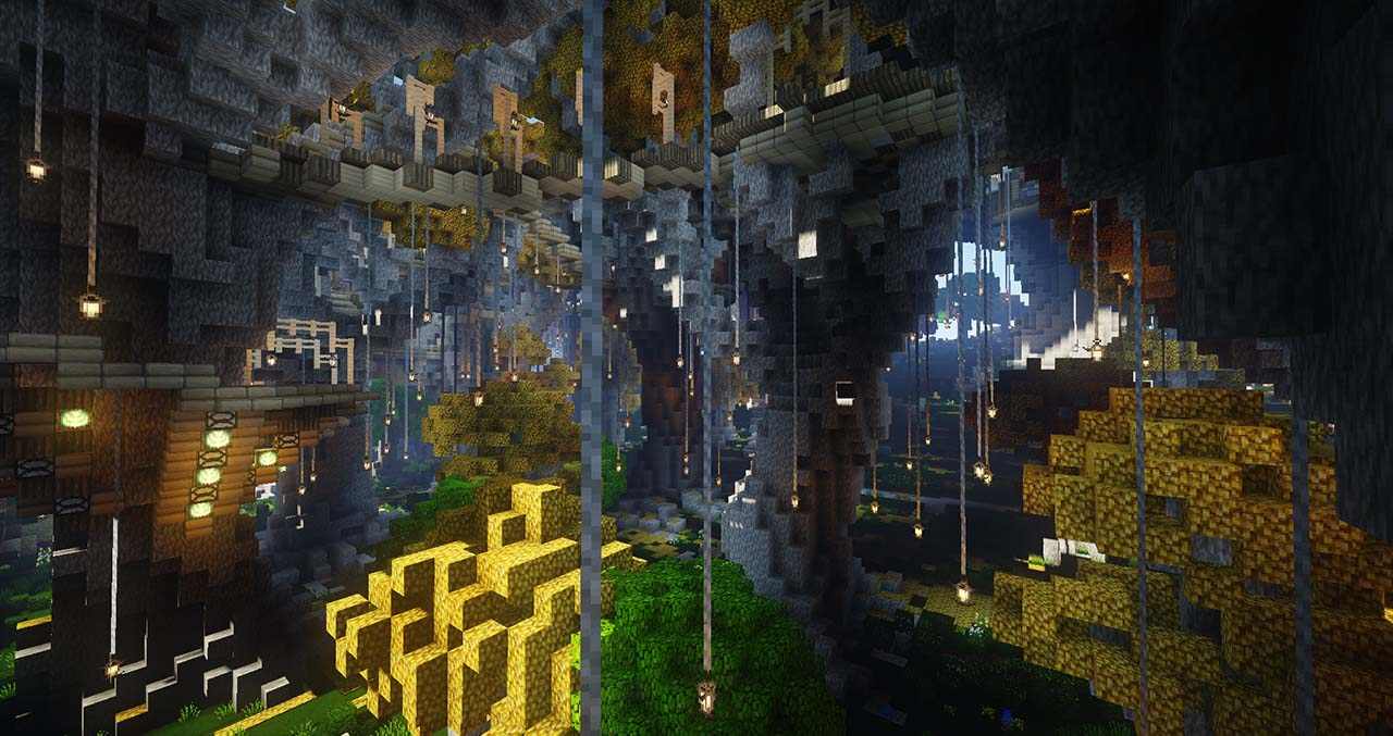 Minecraft Middle Earth By @mcmiddleearth: Caras Galadhon – The City Where Galadriel Hosted The Fellowship
