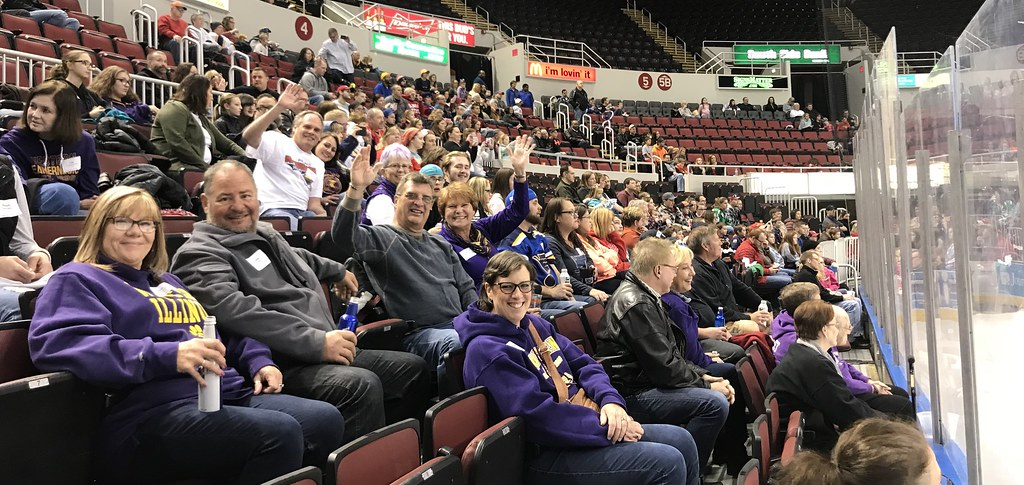 WIU Day at the Peoria Rivermen vs. Fayetteville Marksmen Pregame Social and Hockey Game, 2/18/18