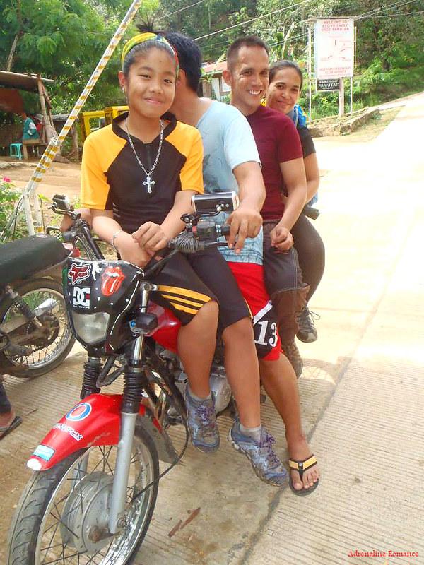 Habal-habal ride