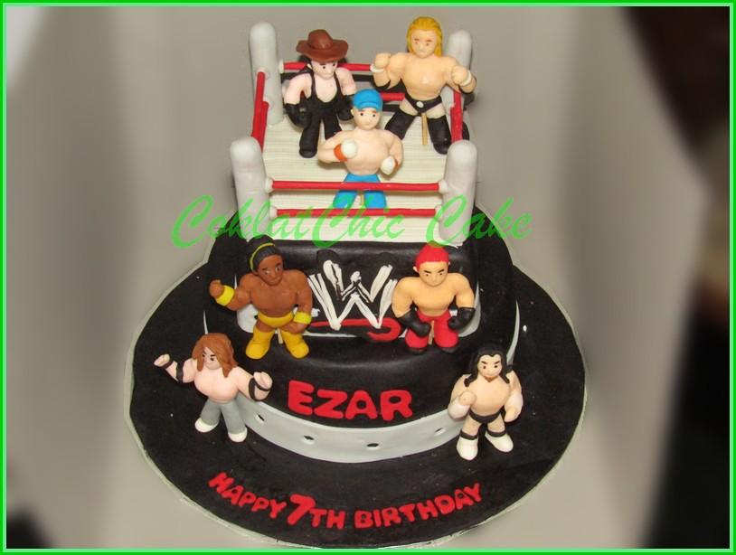 Cake WWE EZAR 15 cm + 12 cm
