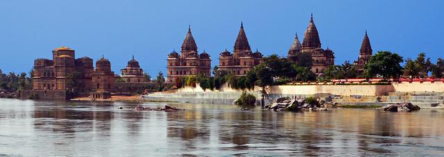 Chhatris At Betwa River