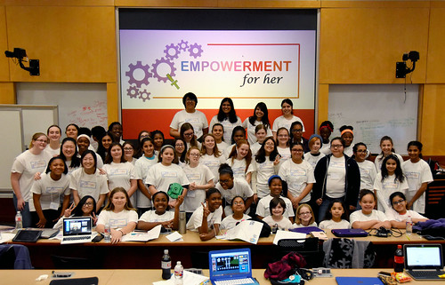 IT Empowerment for Her: Robotics February 2018