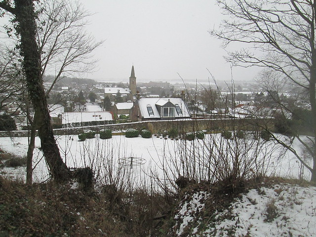 St Drostan's in the snow