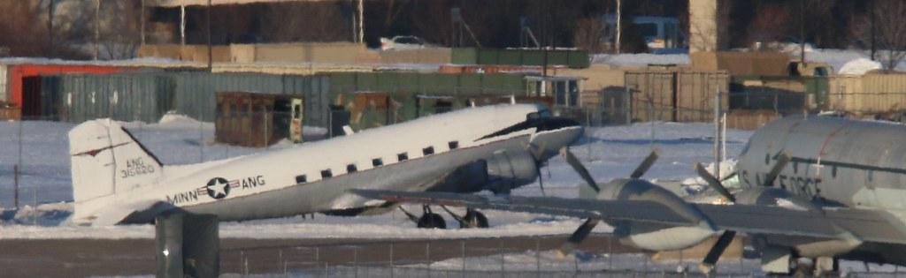 Douglas C-47 43-15620 and Boeing KC-97L of Minnesota ANG Museum at Minnesota ANG 020218