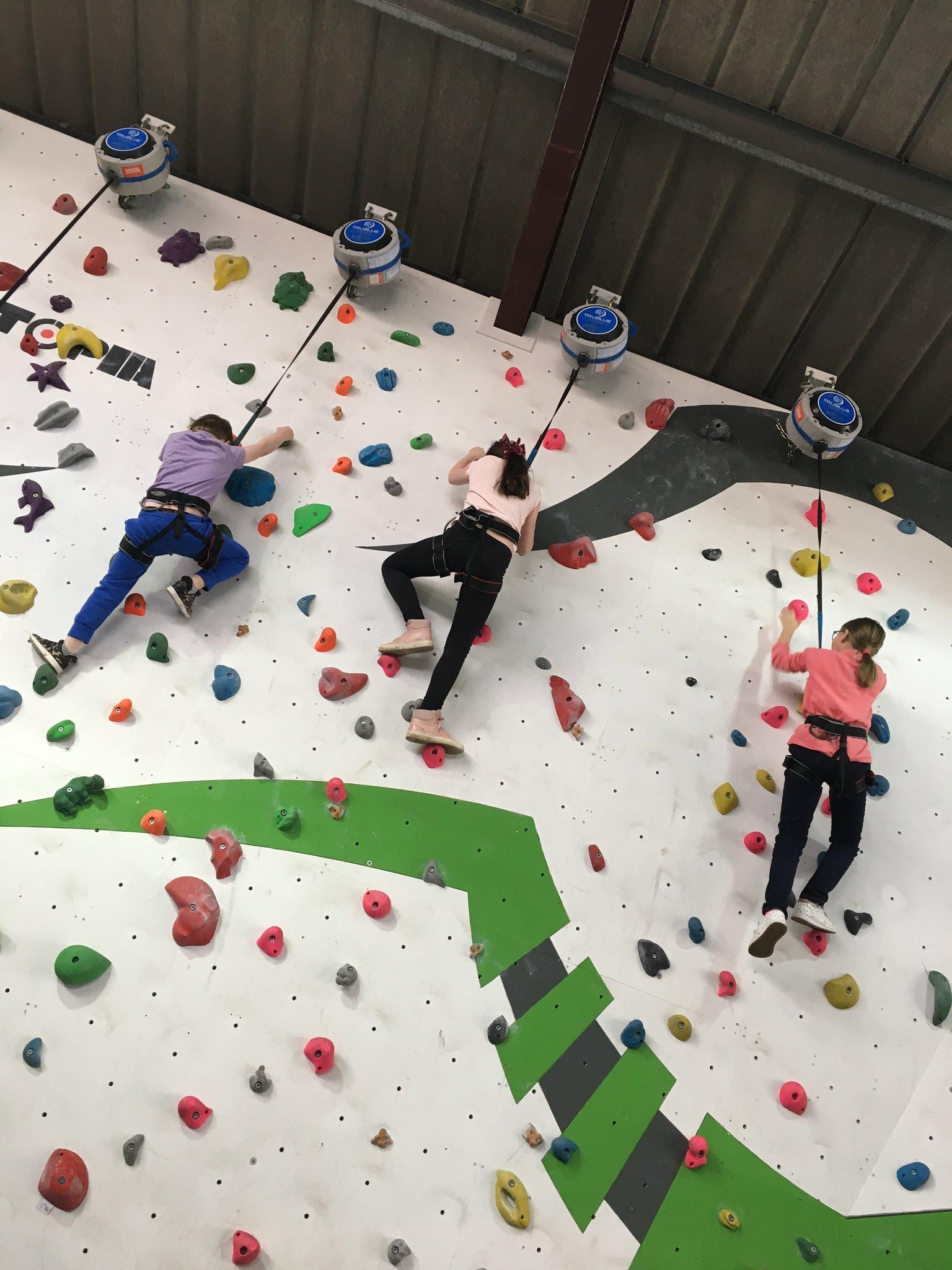 Boarders Rock Climbing