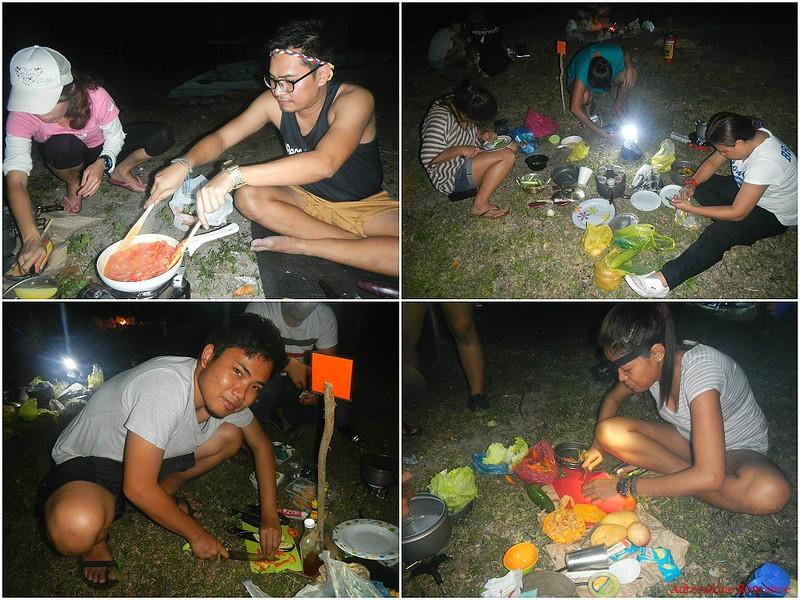 Gourmet outdoor cooking