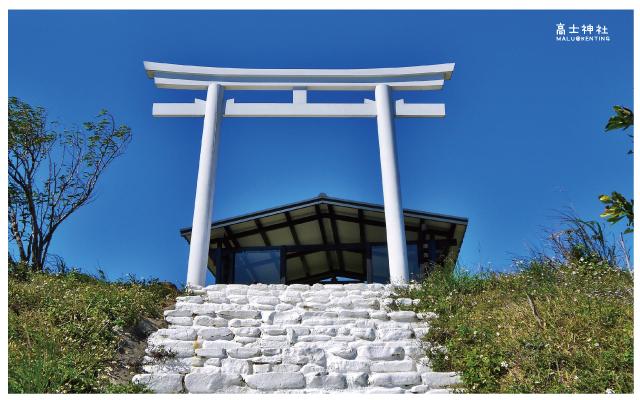高士神社(白色鳥居)-3