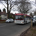 Driver Training - bus on Swanshurst Lane, Moseley