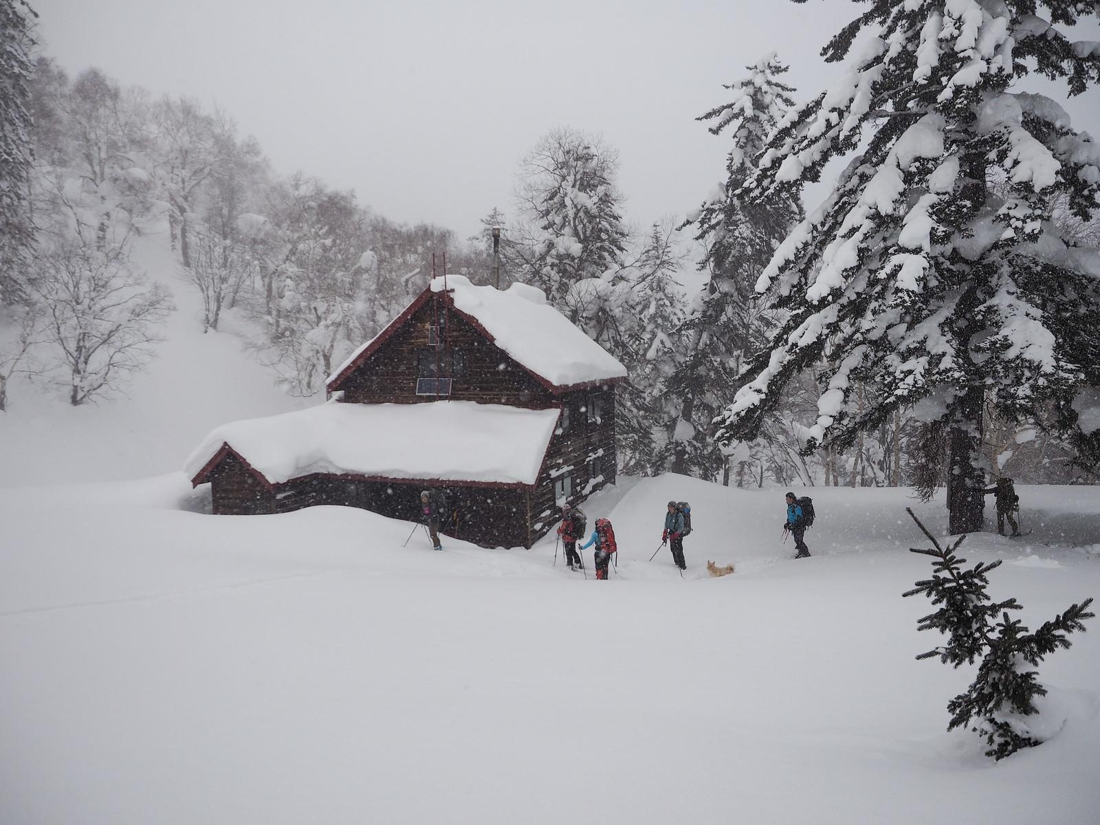 Okuteine Hut and Yutopia Piste (Hokkaido, Japan)
