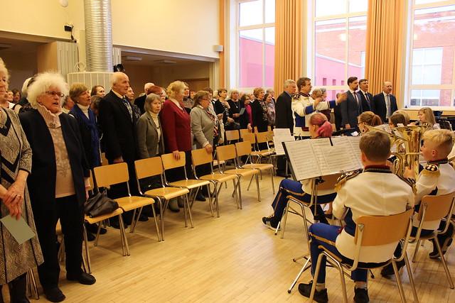 EV100 kontsert-aktus Harku valla eakatele 21.02.2018