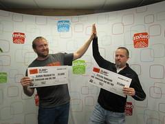 Aaron Marquette - $1,000 - Steven Goddard - $1,000 - Idaho $1,000,000 Raffle