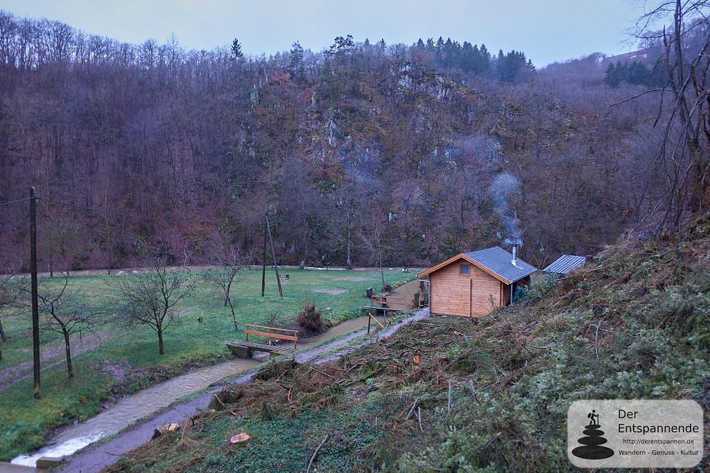 Mühlenbach und Üßbach vor der Strotzbüscher Mühle