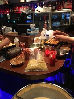 Making Takoyaki at Akihabara Esports Square