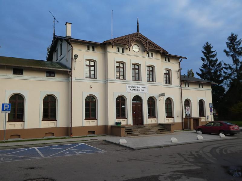 Oliwa Railway Station, Gdansk