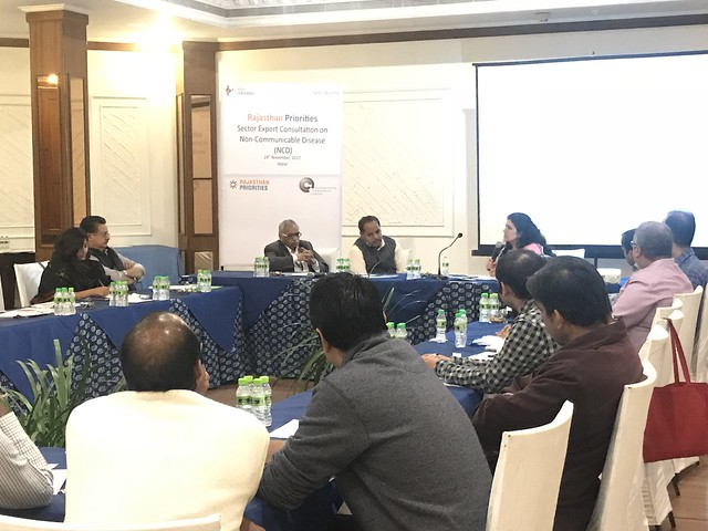 Rajasthan Priorities: Sector Expert Consultation on Non-Communicable Diseases