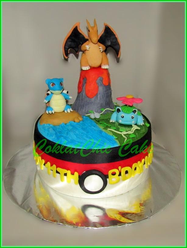 Cake Pokemon - NATHAN - 15 cm