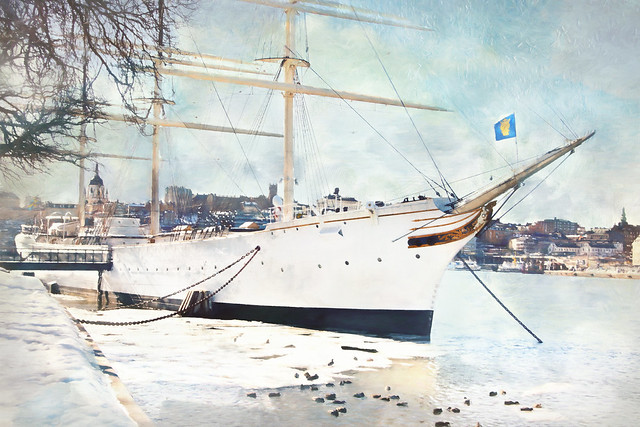 Famous ship in Stockholm SS