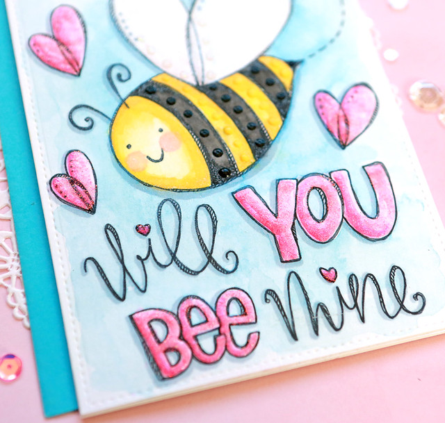 will you bee mine close up