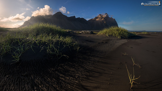 Vestrahorn in evening light