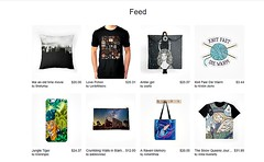 Featured on redbubble.com Homepage