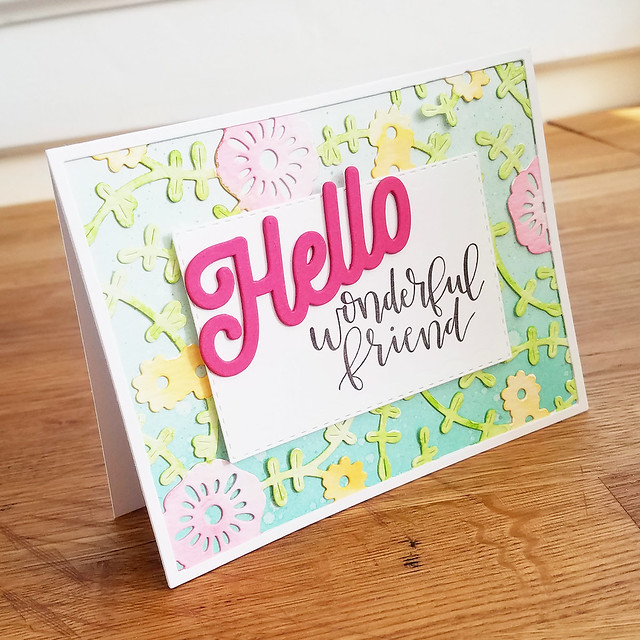 Hello Wonderful Friend Card 2