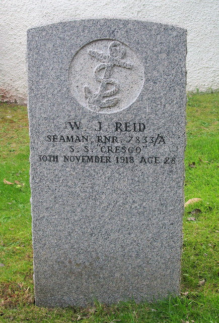 Second War Grave, Plockton