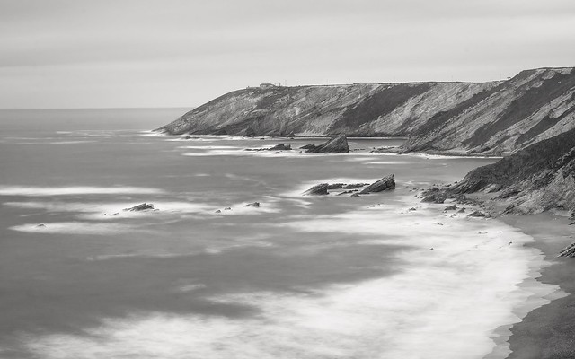 Playa de la Vallina y Cabo Vidio