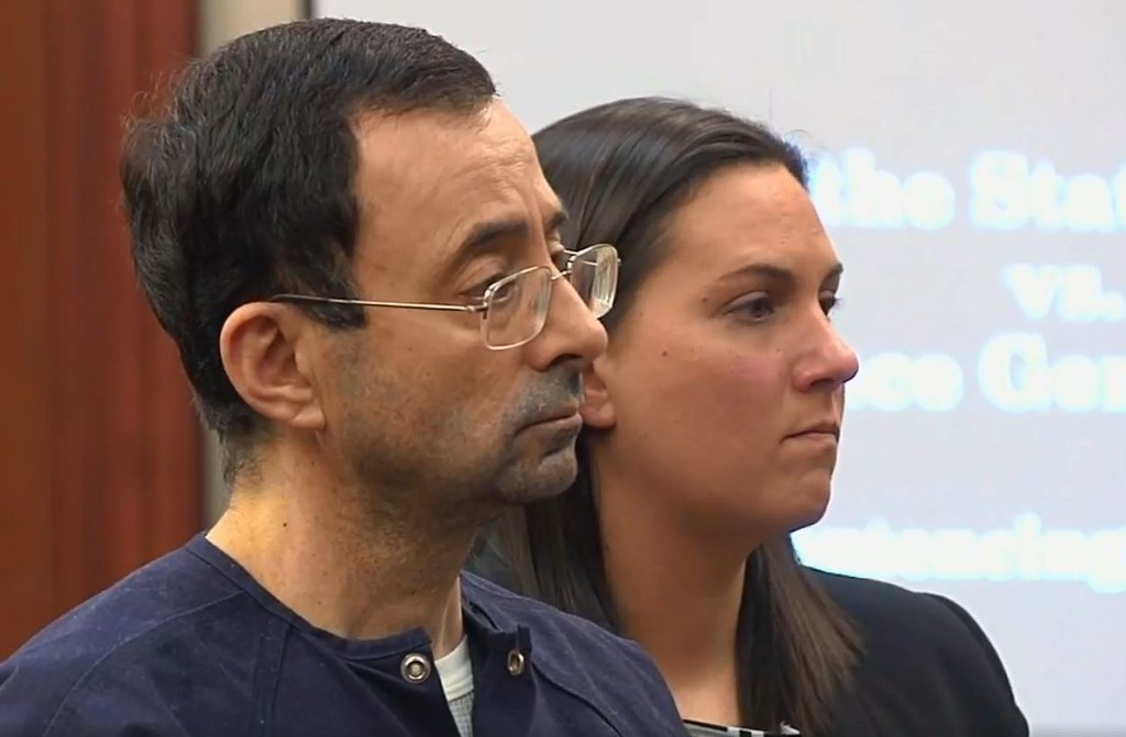 Nassar Sentenced to 40-175 Years for Sexual Assault in Ingham County