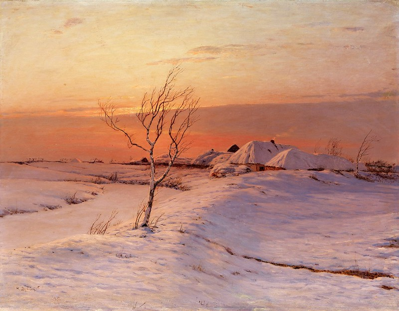 Nikolay Nikanorovich Dubovskoy - A Winter's Evening