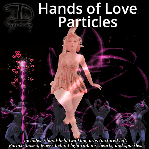 Hands of Love Particles - TeleportHub.com Live!