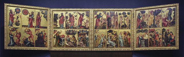 Alterpiece from Harvestehude, c.1410, Bertram von Minden