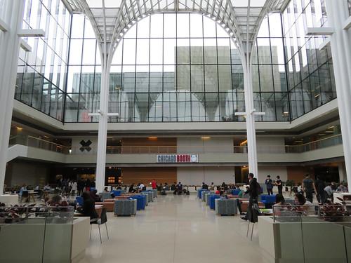 University of Chicago Booth School of Business Rothman Winter Garden