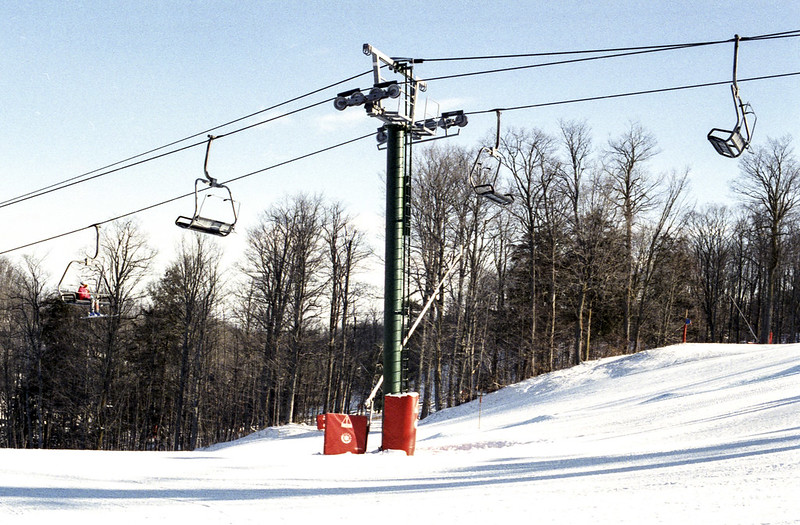 Wortley's Wiggle Chairlift Tower