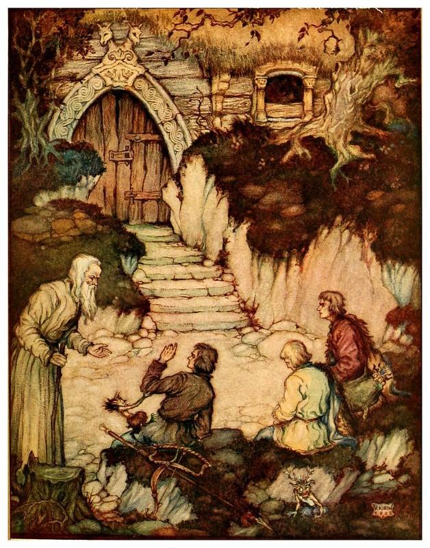 001-En busca de la verdad-Croatian tales of long ago-1922- Vladimir Kirin