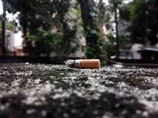 아파트의 흡연구역은?