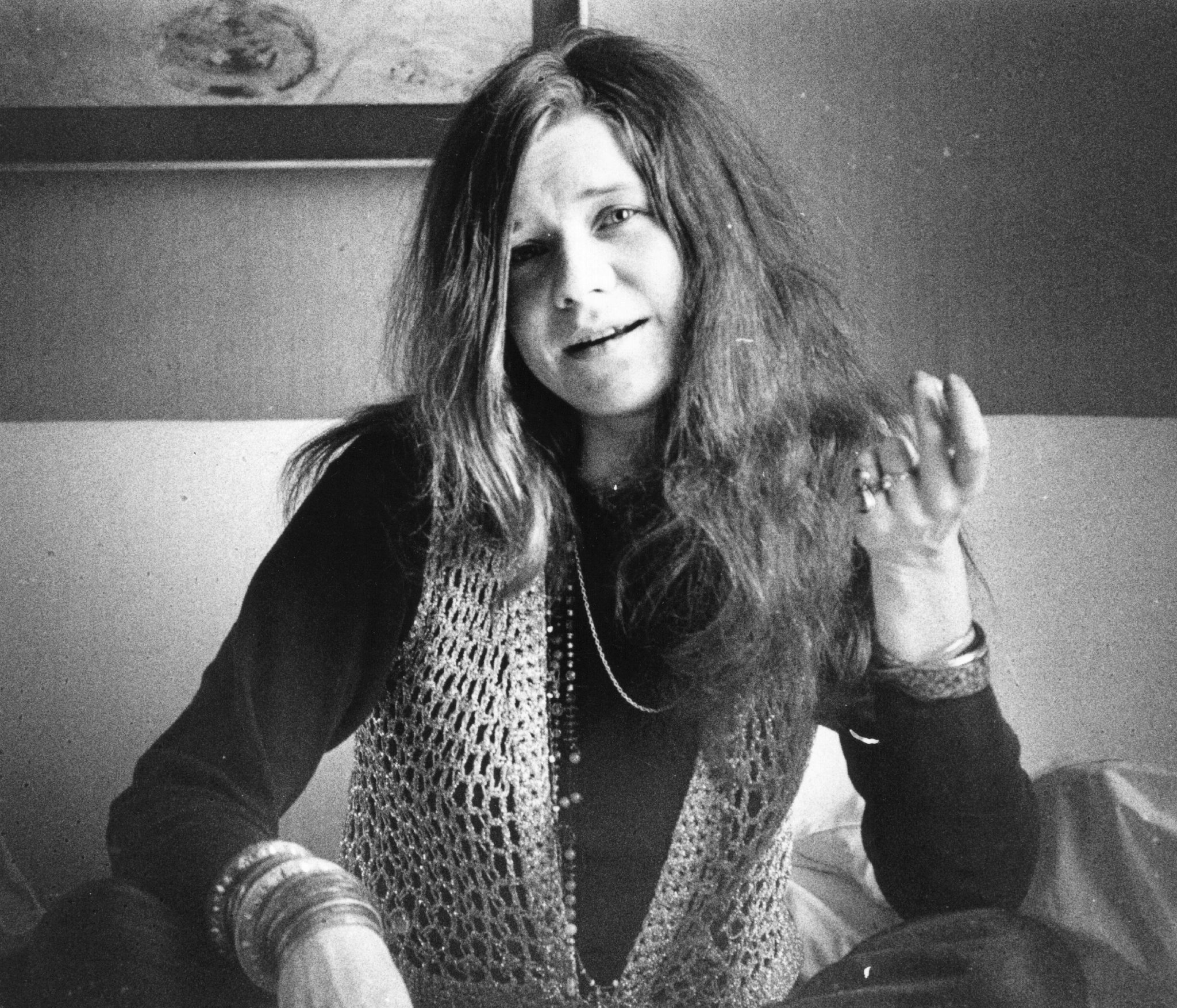 Janis Joplin in 1970.