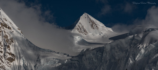 The Alaska Range...