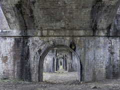 Greystanes Aqueduct, previously know as The Boothtown Aqueduct - built 1883 - SEE BELOW 3/4