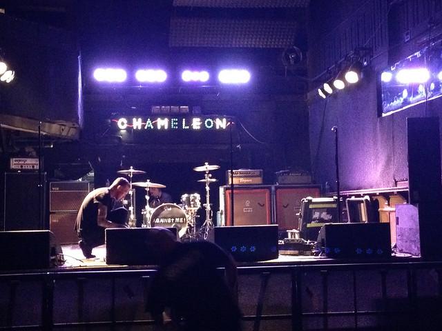 The Shondes & The Sidekicks & Against Me!, @ The Chameleon Club, Lancaster, PA, 11 January 2014