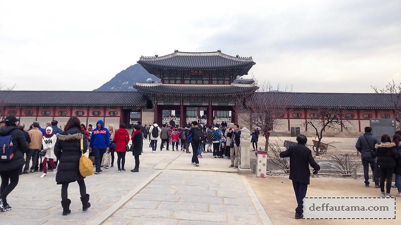 5 hari di Seoul - Gyeongbokgung Palace 1