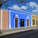 Calle de Campeche, México.-motoros napellenző