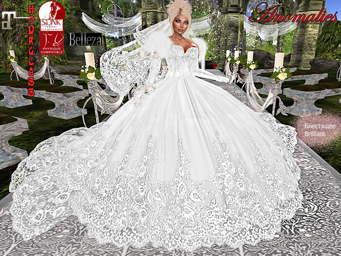 Wedding dress happiness - TeleportHub.com Live!