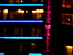 Lights along the South Bank