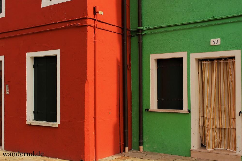 Burano - Häuserecken