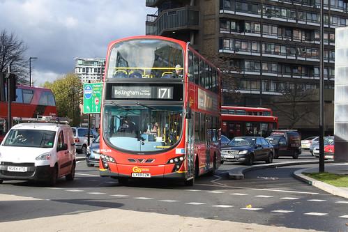 Go-Ahead London WVL294 LX59CZM